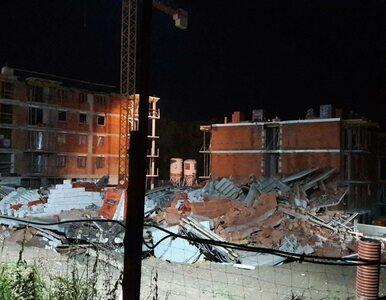 Bielsko-Biała. Zawalił się nowo budowany blok. Na miejscu pracuje 17...