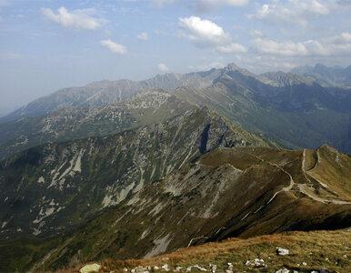 Śmiertelny wypadek w Tatrach. Turysta zasłabł i spadł