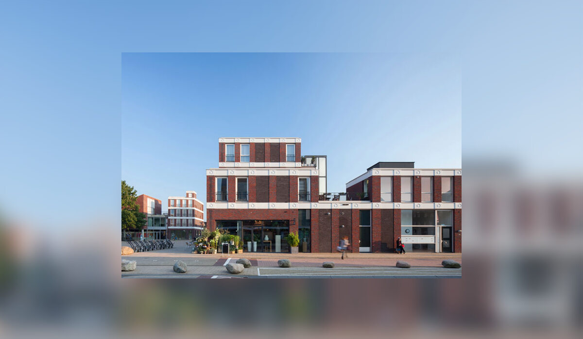 Budynek z emoji Budynek z emoji w Holandii