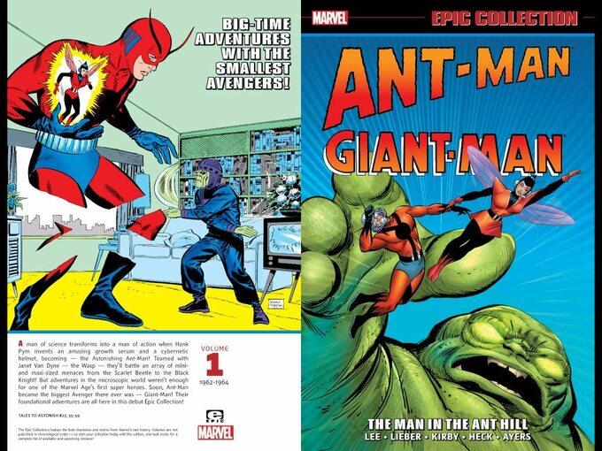 Ant-Man Comics -okładka