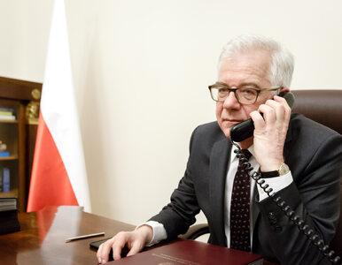 """Jacek Czaputowicz rozmawiał z Sigmarem Gabrielem. """"Polska może liczyć na..."""