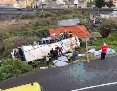 Wypadek autokaru z turystami na Maderze. Co najmniej 28 ofiar śmiertelnych