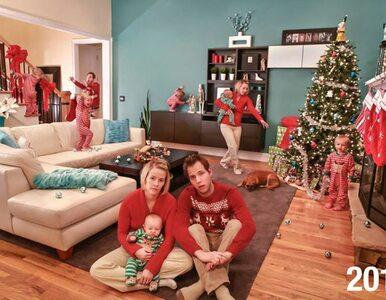 """Ta rodzina robi """"szalone"""" kartki świąteczne. Są inne niż wszystkie"""