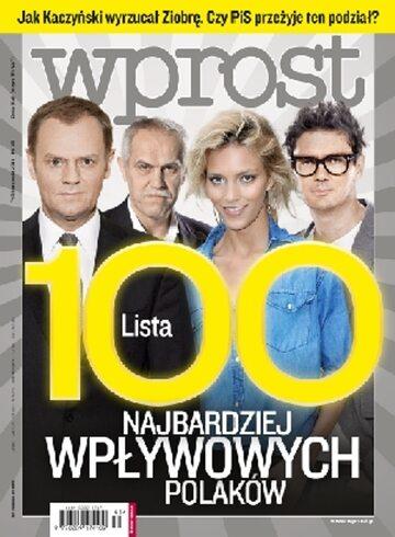 Okładka tygodnika Wprost nr 45/2011 (1500)