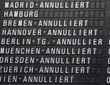 Loty z Frankfurtu do Warszawy odwołane. Przez strajk