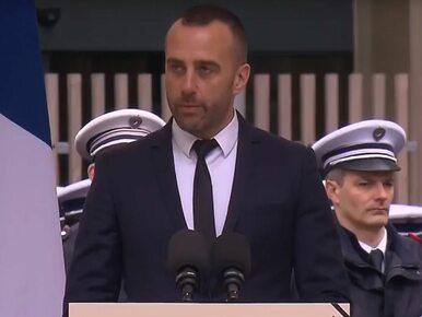 Partner zabitego policjanta wziął z nim pośmiertny ślub. W ceremonii...