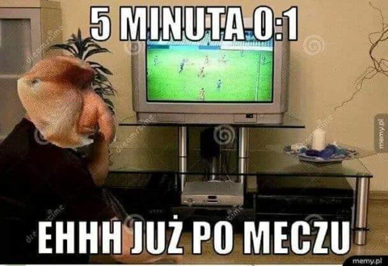 Mem po meczu Polski z Węgrami