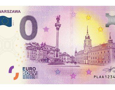 Polskie 0 euro z wizerunkiem Warszawy. Niecodzienny banknot trafi do...
