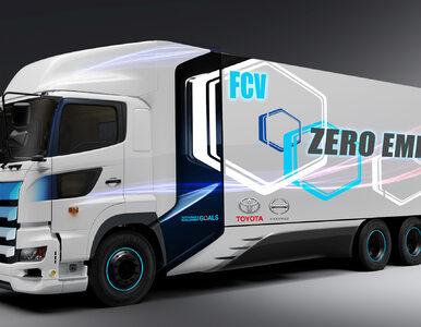 Toyota i Hino budują wielkogabarytową ciężarówkę na wodór