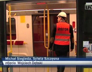 Podziemna przejażdżka - testowa jazda II linią metra