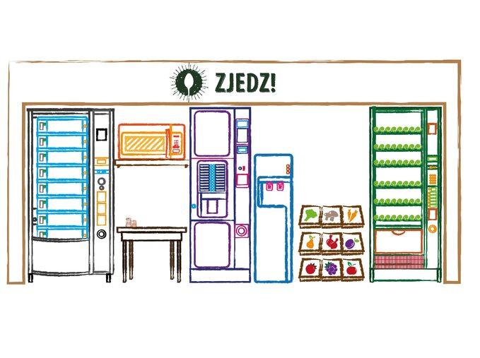 Automaty vendingowe są ustawiane głównie wzakładach pracy, biurowcach, szkołach czynauczelniach