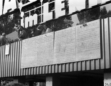 40 lat temu temu podpisano w Gdańsku porozumienia sierpniowe. Tak...
