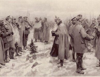 Z okazji Bożego Narodzenia potrafiono przerywać wojnę. Słynny grudniowy...