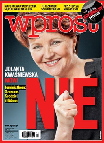 Okładka tygodnika Wprost nr 14/2013 (1571)