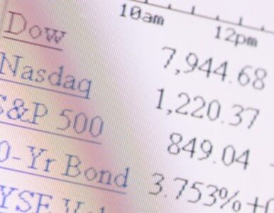 Dow Jones 900 punktów do góry