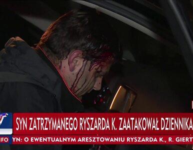 Operator TVP został pobity przed domem Ryszarda K. Do sieci trafiło...