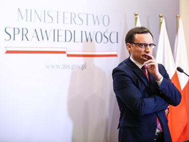 """""""Ziobro blokuje 500 etatów sędziowskich. Kilkaset tysięcy spraw mogłoby..."""
