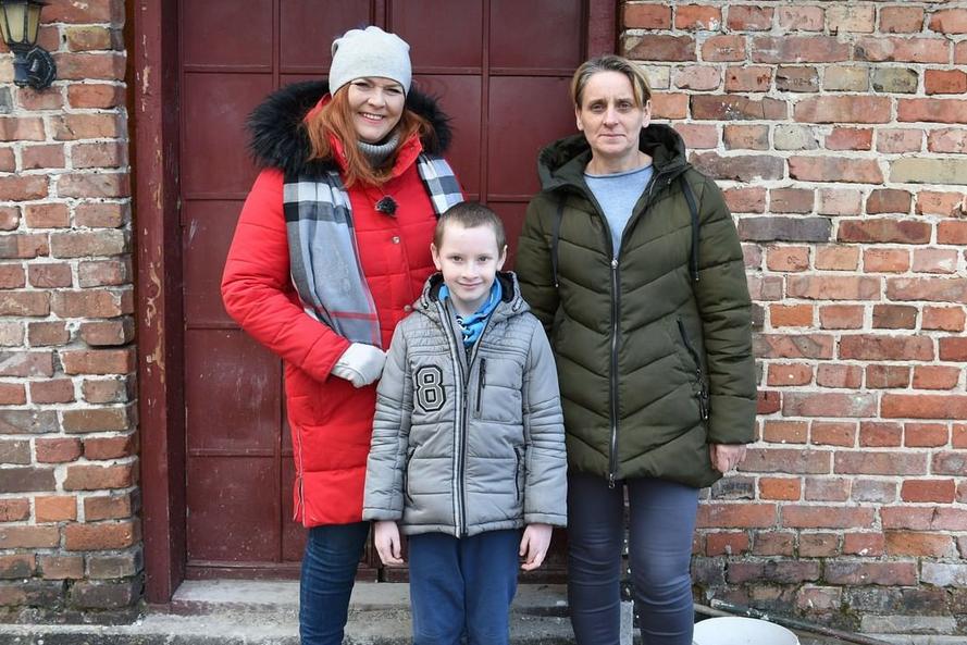 Katarzyna Dowbor, pani Magda i jej syn Mikołaj