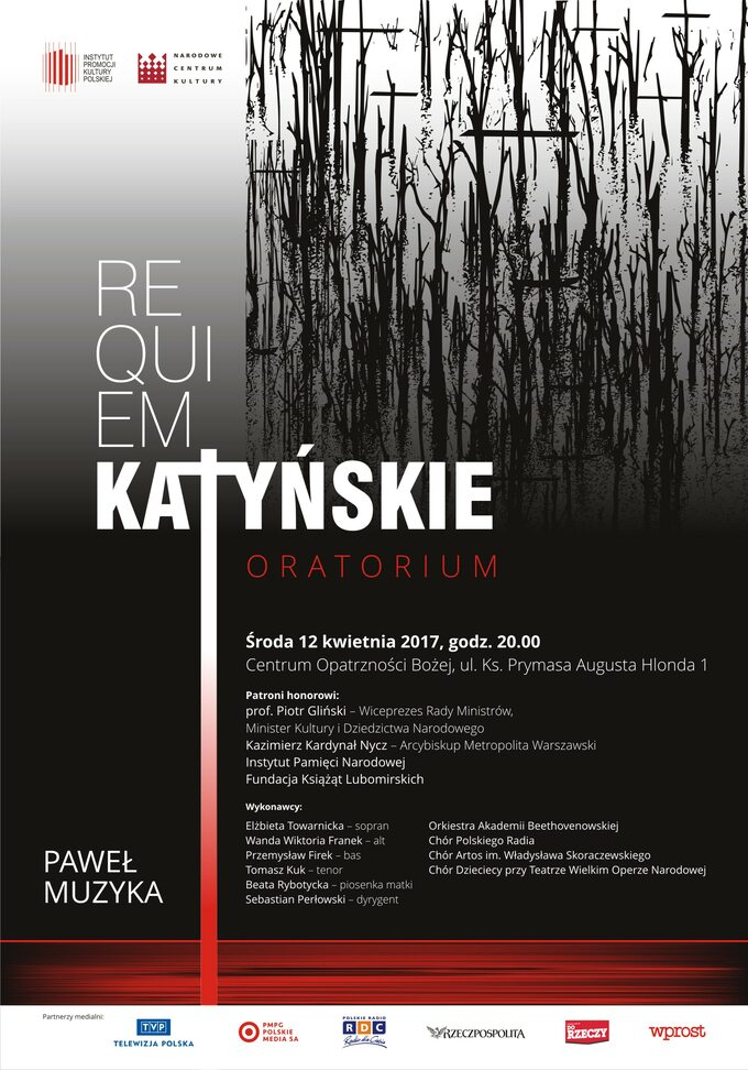 Requiem Katyńskie plakata