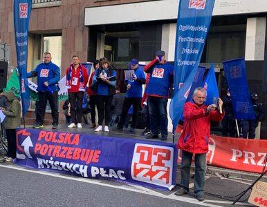 Sobota pełna protestów w Warszawie. Manifestowali nauczyciele i...