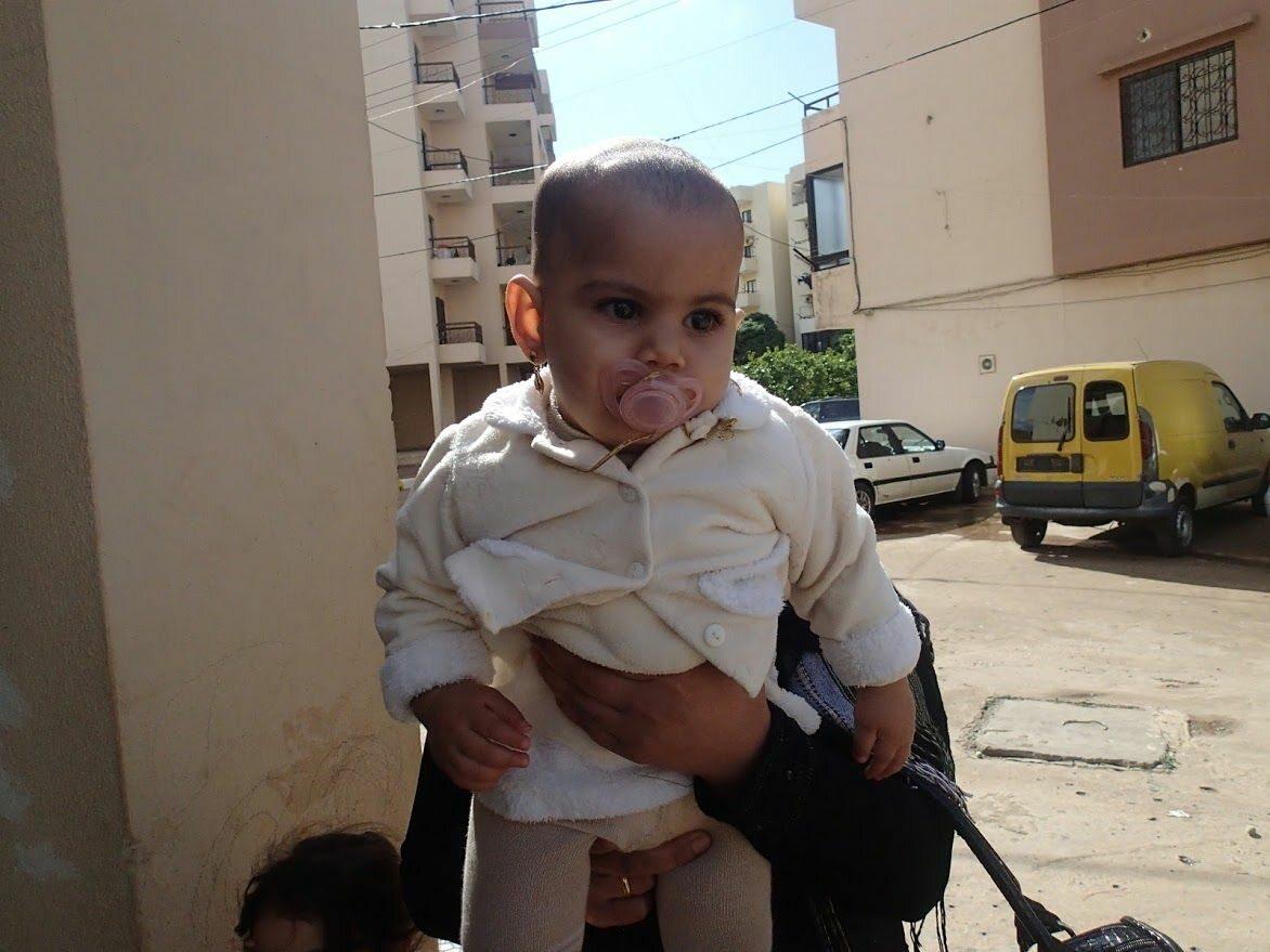 Dziecko syryjskich uchodźców Dziecko syryjskich uchodźców