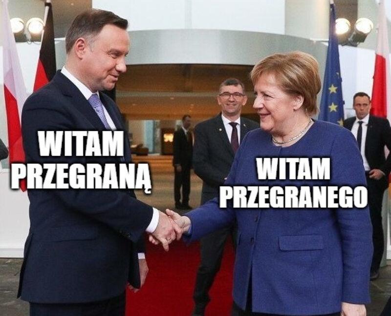 Mem po porażce Niemiec z Francją