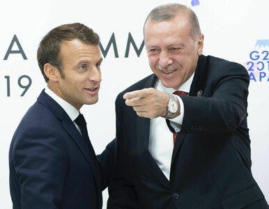 Erdogan obraził Macrona, chce, by przebadano go psychiatrycznie....