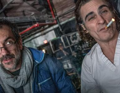 "Gratka dla fanów filmu ""Joker"". Todd Phillips, Joaquin Phoenix i Bradley..."