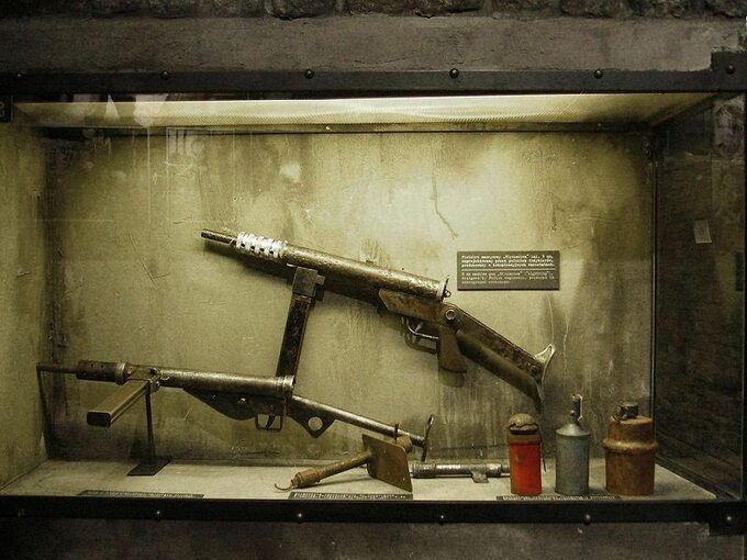 Broń użyta podczas powstania warszawskiego
