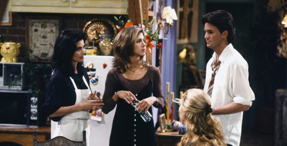 """Quiz z 15. odcinka serialu """"Przyjaciele"""". Pamiętacie, jak Joey uczył..."""