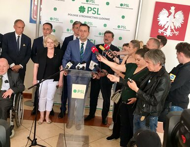 PSL opuszcza Koalicję Europejską. Ludowcy startują z nowym projektem