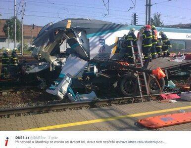 Pendolino zderzyło się z polskim tirem. Jest areszt dla kierowcy