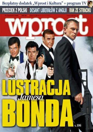 Okładka tygodnika Wprost nr 46/2006 (1248)