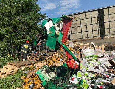 Tragedia w Biczycach Dolnych. Ciężarówka śmiertelnie przygniotła kierowcę