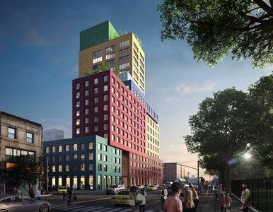 Budynek jak z Tetrisa. Na Manhattanie powstaje ciekawy projekt