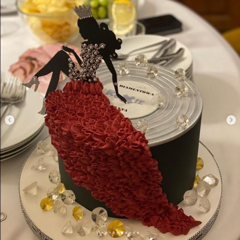 Tort urodzinowy Roksany Węgiel