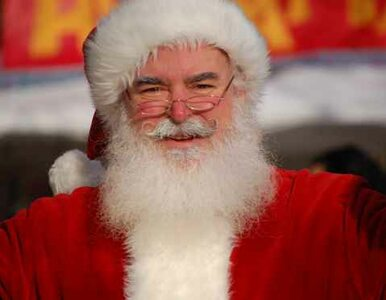 Św. Mikołaj zarabia 800 złotych na godzinę. Zwłaszcza jeśli ma brodę