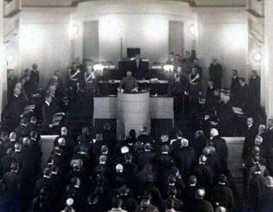 100 lat temu została uchwalona konstytucja marcowa. Morawiecki: Była...