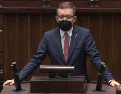 Awantura w Sejmie, Winnicki zagłuszany. Terlecki: Lewica pokazuje swoje...