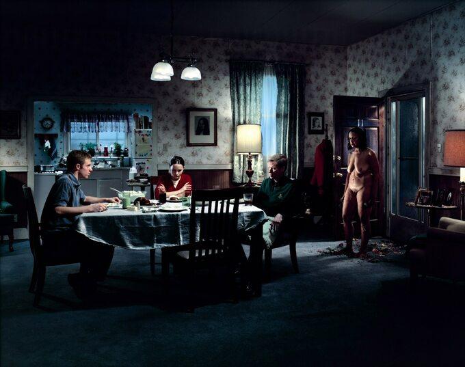 """""""Untitled"""", obraz Gregory'ego Crewdsona"""