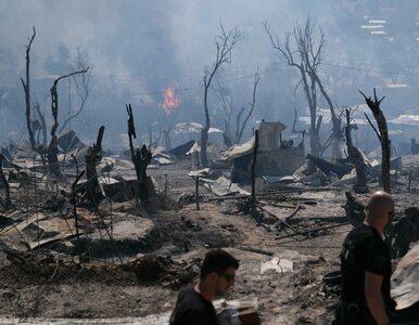Koronawirus wśród migrantów ze spalonego obozu Moria na Lesbos. 243...