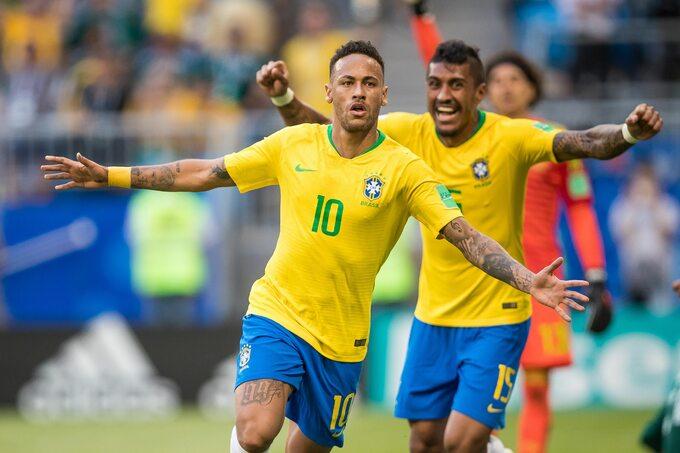 Neymar i Paulinho