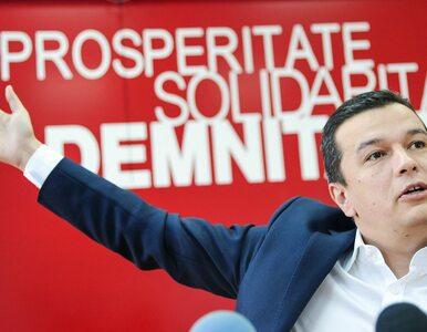 Sorin Grindeanu nowym premierem Rumunii