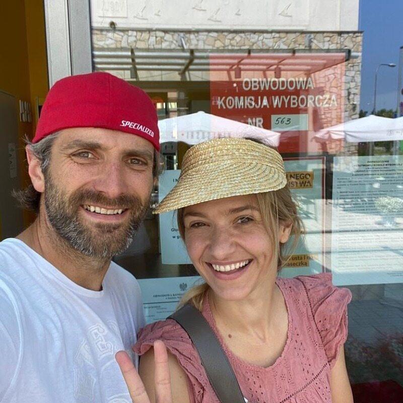 Joanna Koroniewska i Maciej Dowbor