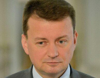 Błaszczak: Polska nie ma obowiązku przyjmowania imigrantów