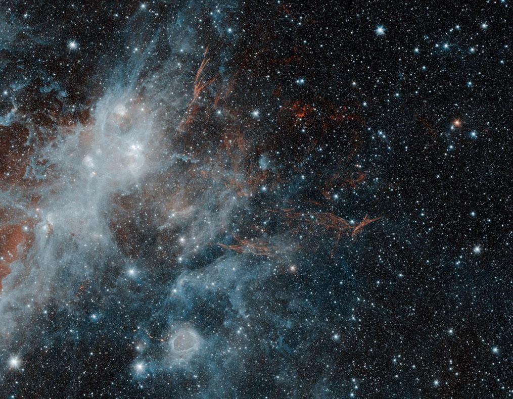 Supernova Remnant HBH 3