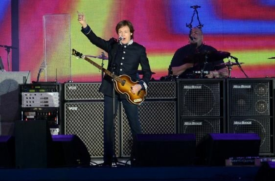 Sir Paul McCartney (fot. TOBIAS HASE/EPA/PAP)