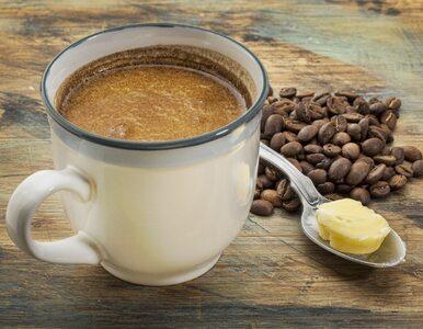 """Kawa z masłem pomaga schudnąć. """"Kawa kuloodporna"""" pobudza i hamuje apetyt"""