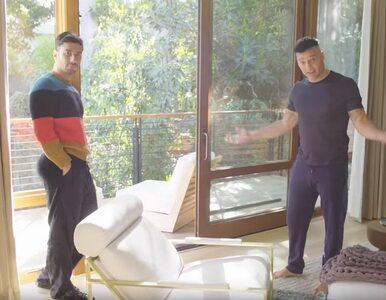 Zobacz, jak mieszka Ricky Martin z mężem. Para artystów pokazała swój dom