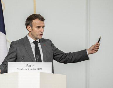 Francuzi masowo ruszyli po szczepionki. Wszystko przez zapowiedź prezydenta